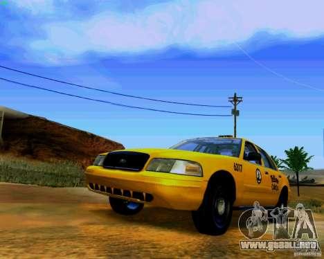 ENBSeries by S.T.A.L.K.E.R para GTA San Andreas sexta pantalla