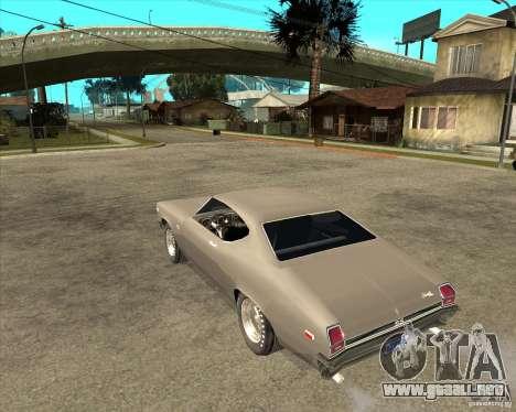 1969 Chevrolet Chevelle para GTA San Andreas left