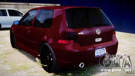 Volkswagen Golf IV R32 v2.0 para GTA 4 visión correcta