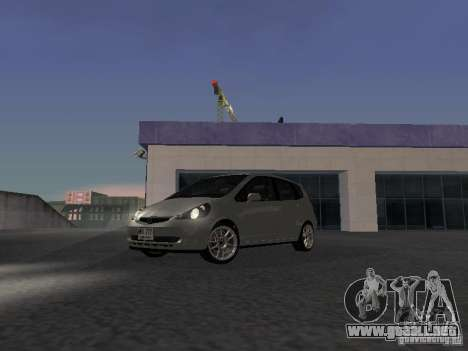 Honda Fit para GTA San Andreas left