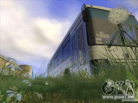 NEFAZ-5299-32 11 para visión interna GTA San Andreas