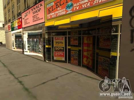 Nuevo centro de texturas Los Santos para GTA San Andreas tercera pantalla