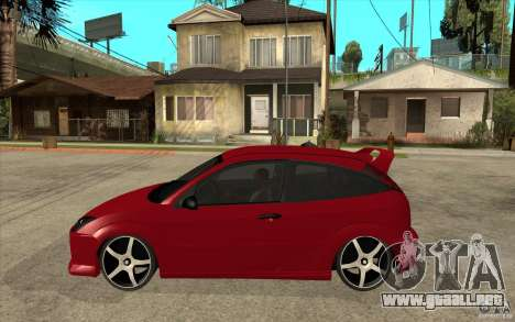 Ford Focus Coupe Tuning para GTA San Andreas left