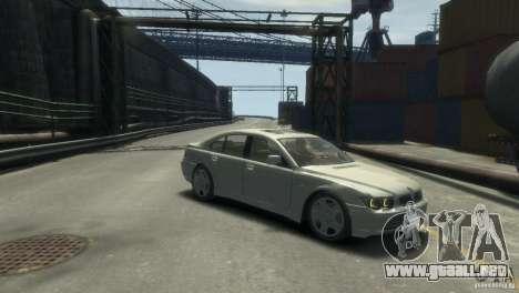 BMW 760I para GTA 4 visión correcta