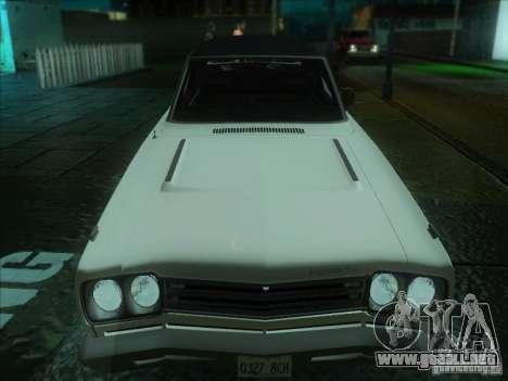 Plymouth Roadrunner 440 para GTA San Andreas left