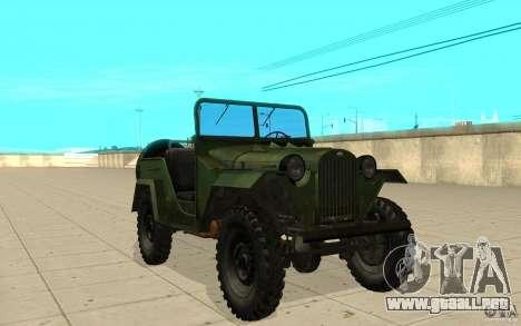 Gaz-67 para GTA San Andreas