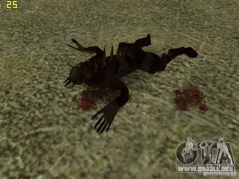 Chupacabra para GTA San Andreas novena de pantalla