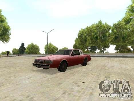 ENBSeries by Sashka911 para GTA San Andreas sucesivamente de pantalla