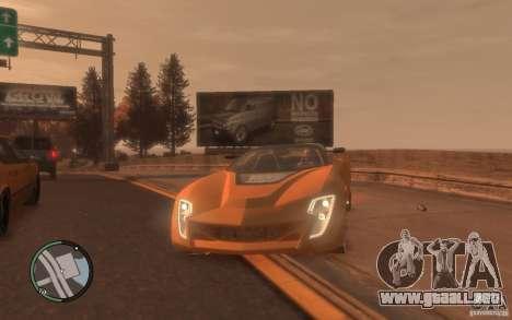 Bertone Mantide para GTA 4 Vista posterior izquierda