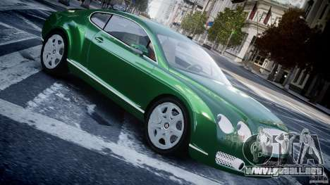 Bentley Continental GT para GTA 4 left