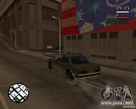 Nueva dirección pragmática para GTA San Andreas tercera pantalla