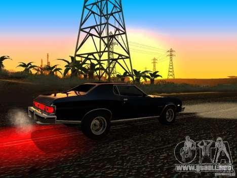 Ford Gran Torino 1975 para la visión correcta GTA San Andreas