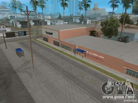 Nuevo Groove Street para GTA San Andreas octavo de pantalla