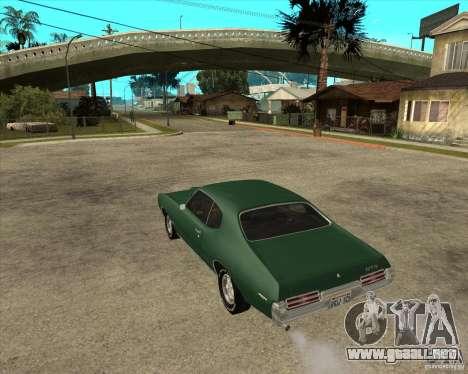 Pontiac GTO 1969 para GTA San Andreas left