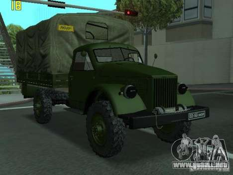 GAS 63A para GTA San Andreas
