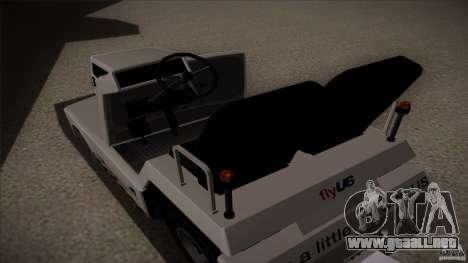 Air Tug from GTA IV para la visión correcta GTA San Andreas