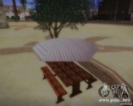 Nuevos patrones de ocio para GTA San Andreas segunda pantalla