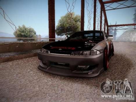 Nissan Silvia S14 Hell para la visión correcta GTA San Andreas