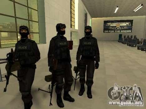 Ayuda Swat para GTA San Andreas