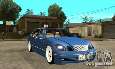 Lexus GS300 V 2003 para visión interna GTA San Andreas
