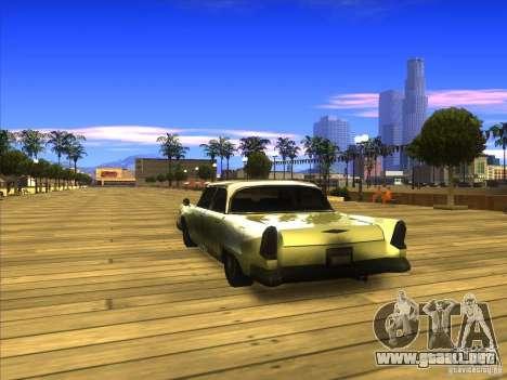 Glendale - Oceanic para GTA San Andreas vista posterior izquierda