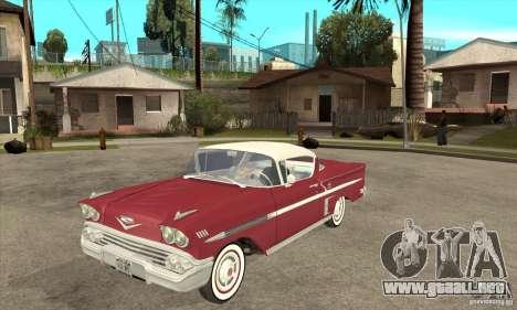 Chevrolet Impala 1958 para GTA San Andreas