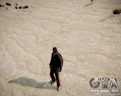 Black Niko para GTA 4 adelante de pantalla