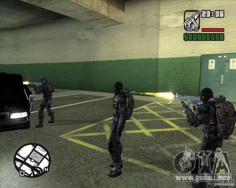 Grupo de acosadores deuda para GTA San Andreas quinta pantalla