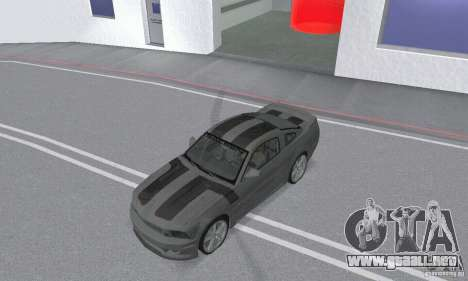 Saleen S281 Pack 2 para visión interna GTA San Andreas