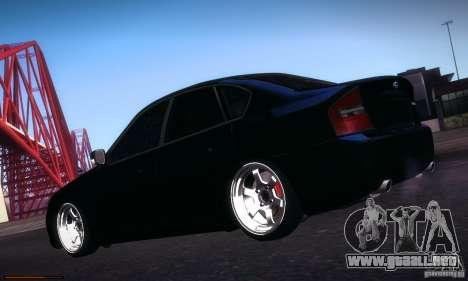 Subaru Legacy BIT edition 2004 para vista lateral GTA San Andreas