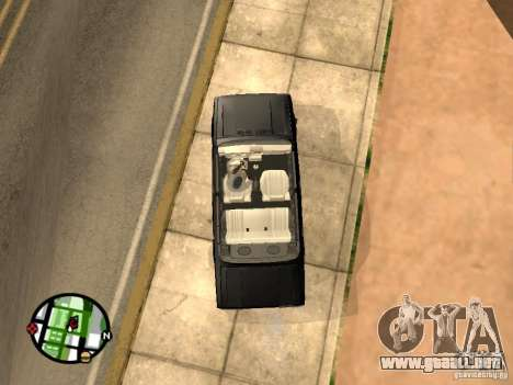 Vaz 2105 Gig v1.3 para la visión correcta GTA San Andreas