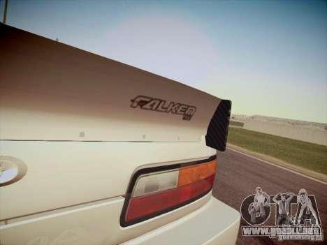 Nissan Silvia S13 Daijiro Yoshihara para GTA San Andreas vista hacia atrás