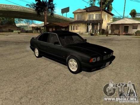 BMW e34 525 para la visión correcta GTA San Andreas
