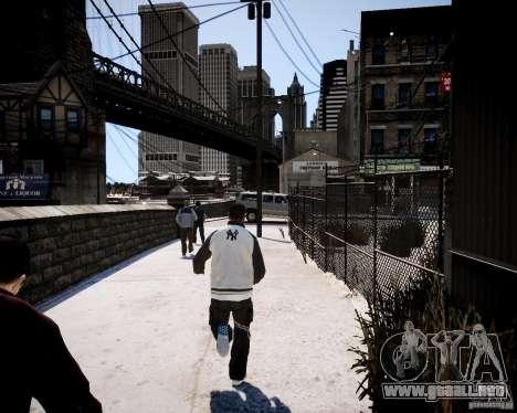 Niko - Cj para GTA 4 quinta pantalla