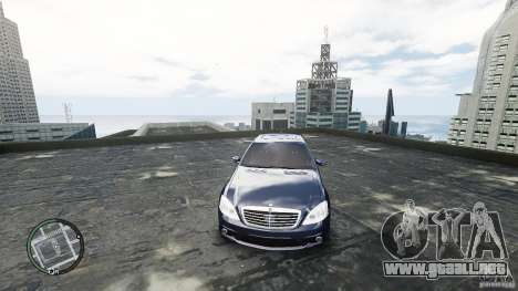 Mercedes-Benz S65 AMG para GTA 4 vista interior