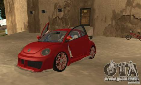 Volkswagen Bettle Tuning para GTA San Andreas left