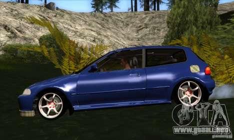 Honda Civic EG5 para GTA San Andreas left
