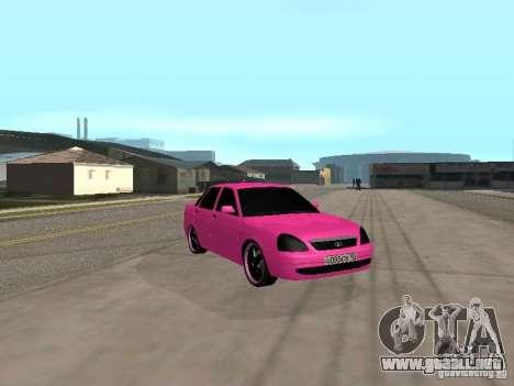 Lada Priora Emo para la visión correcta GTA San Andreas