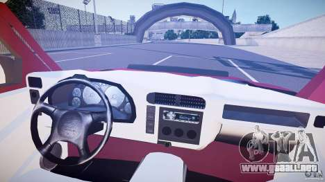 Chevrolet S10 para GTA 4 vista hacia atrás