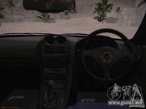 Mitsubishi FTO GP Veilside para visión interna GTA San Andreas