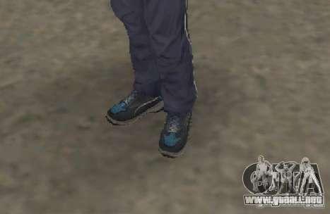 CJ Gopnik para GTA San Andreas sexta pantalla