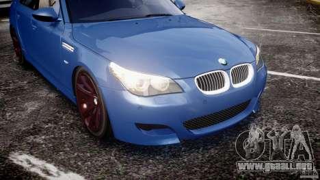 BMW M5 E60 2009 para GTA motor 4