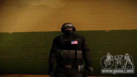 S.W.A.T. para GTA San Andreas