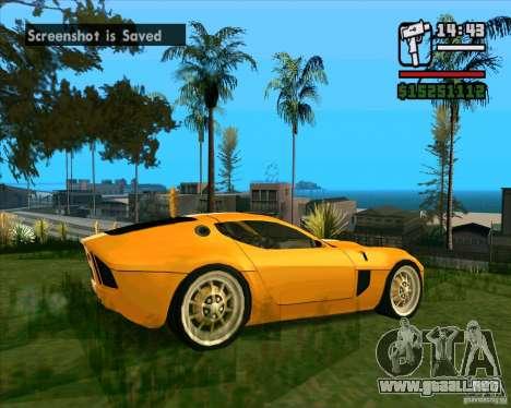 Shelby GR-1 para la visión correcta GTA San Andreas