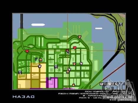 Villa en San Fierro para GTA San Andreas undécima de pantalla