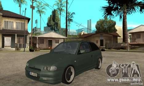 Opel Astra GSI 1993 Custom para GTA San Andreas