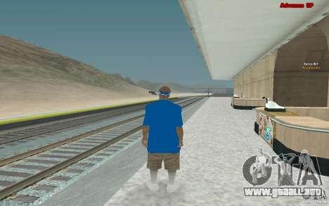 Nuevos aspectos para banda Varios Los Aztecas para GTA San Andreas sexta pantalla