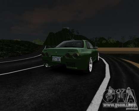 Nissan Skyline R32 GTS-t Veilside para GTA 4 vista hacia atrás