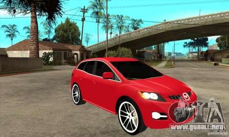 Mazda CX-7 para visión interna GTA San Andreas