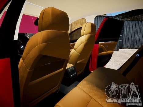 BMW 525i Touring para GTA 4 vista interior